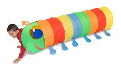The Happy Giddy Tunnel is lots of fun to play in, gross motor skills are developed as little ones crawl through this fun tunnel! Outdoor Toys, Indoor Outdoor, Indoor Play, Play Tunnel, Tunnel Tent, Kids Sleeping Bags, Look At My, Melissa & Doug, Gross Motor Skills