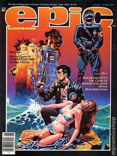 Epic Illustrated (1980 Magazine) 24