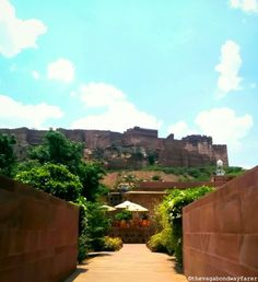 Old City of Jodhpur.  Raas hotel.   Be a Tourist in Your Own City - The Vagabond Wayfarer