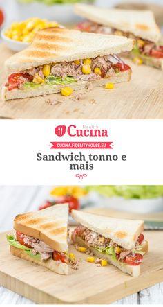 Sandwich tonno e mais