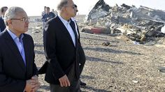 Egypt's Prime Minister Sherif Ismail visits the scene of the deadly plane crash. http://www.cbsnews.com/news/egypt-russia-plane-crash-sinai-peninsula/
