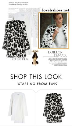 """""""WINTER"""" by evadefrancesco ❤ liked on Polyvore featuring DKNY, Marc Jacobs and Oscar de la Renta"""