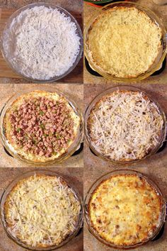 6 Stages in the life of an Alabama Breakfast Pie
