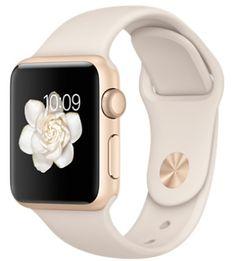 В нашем интернет магазине вы можете купить Смарт-часы Apple Watch Sport 38mm Gold Aluminium с белым спортивным ремешком MLCJ2 по выгодной цене! Быстрая доставка • бонусы за покупку. Звоните бесплатно ☎ 0 800 20 70 20