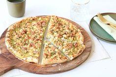 broccoli pizza CHICKSLOVEFOOD