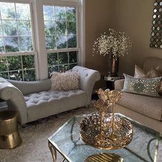 Home decor, diy home decor, elegant home decor, formal living rooms Cozy Living Rooms, Formal Living Rooms, Home And Living, Living Room Decor, Pinterest Home, Glam Room, Elegant Homes, Diy Home Decor, Inspire Me Home Decor
