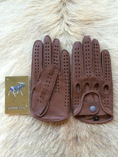Driving leather gloves  https://www.etsy.com/listing/163360116/driving-leather-gloves-deerskin-glove