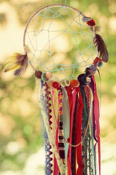 Beads and ribbons