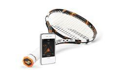 HIGH-TECH - Babolat Play Pure Drive, première raquette connectée au monde, pour gérer et partager ses performances via son smartphone - Babolat - 399€