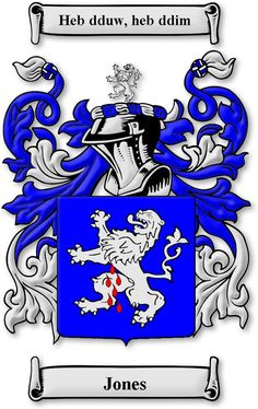 8 Best Jones Family Crest and Coat Of Arms images in 2017 | Coat of