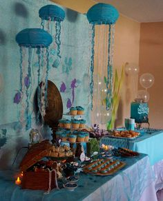 Under the Sea/Mermaid Birthday Party Ideas | Photo 24 of 54 | Catch My Party