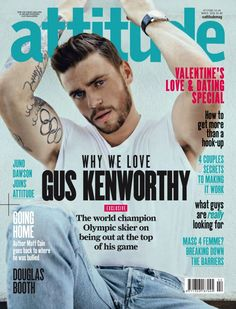 Gus Kenworthy Covers Attitude Magazine, Talks First Gay Kiss