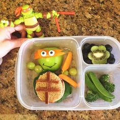 Teenage Mutant Ninja Turtles lunch!