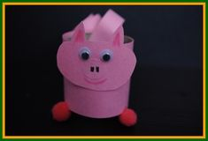 Great site for vbs ideas!   Old MacDonald had a farm! On his farm he had a pig!!    Learn to make the critters from his farm: www.easy-crafts-for-kids.com/farm-crafts-for-kids.html