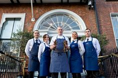 Head Chef + Waiting staff Waiting Staff, Oyster Bar, Cliff, Oysters, Townhouse, Restaurant, Coat, Jackets, Dresses