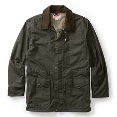 Filson Cover Cloth Mile Marker Coat Alaska fit Size No. Wax Jackets, Cool Jackets, Rugged Style, Otter, Jackets Online, African Fashion, Women's Fashion, Alaska, Military Jacket