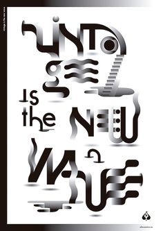 Typography ///  poster // Source: bimbaam
