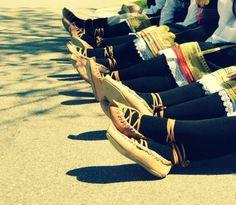 Serbian shoes...cute!!!