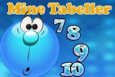 Mine tabeller er gratis. Man øver de tal, der mangler og øver gange stykker, hvor svarene er multiple choice svar. I spillet unlockes nye tabeller, når man kan en ny tabel. Der øves også division.