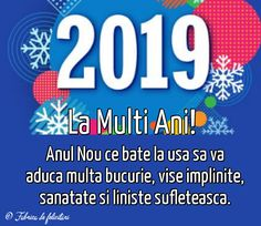 An Nou Fericit, Happy New Year 2019, Happy Holidays, Diy And Crafts, Owls, Quotes, Christmas, Hip Bones, Blue Prints