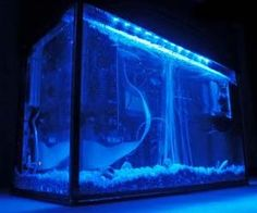 Run a monstrous gaming rig submerged in this aquarium style computer case. Offering extreme cooling for your computer hardware components, the aquarium...