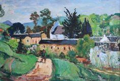 François Krige 'A view of Mamre' South African Art, Fine Art Gallery, Landscapes, Painting, Paisajes, Scenery, Art Gallery, Painting Art, Paintings