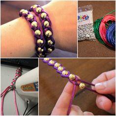 DIY Wrap Bracelet lovely beaded bracelet