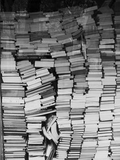 i would be happiest human to have a store-room filled with falling books like this. i am nerd, deal with it.