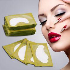 High Quality 50PCS Paper Patches Eyelash Under Eye Pads Lash Eyelash