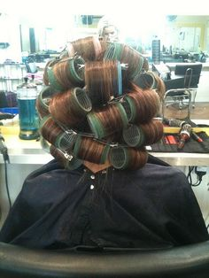 WET ROLLER SET by martin.hairlover, via Flickr