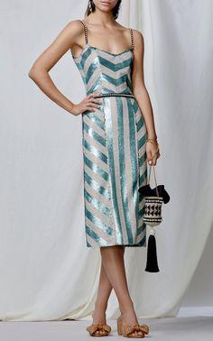 M'O Exclusive Salon De Paris Sequin Dress by Johanna Ortiz