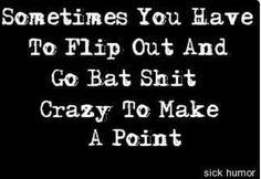 Sometimes. ...
