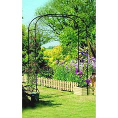 Buy Gardman Extra Wide Garden Arch at Guaranteed Cheapest Prices with Rapid Delivery available now at Greenfingers.com, the UK's #1 Online Garden Centre.
