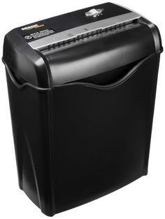 AmazonBasics 6-Sheet Cross-Cut Paper and Credit Card Shredder, 2016 Amazon Top Rated Office Electronics  #CE