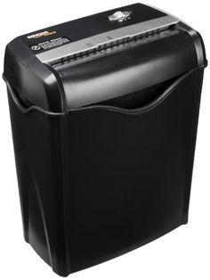AmazonBasics - Trituradora de corte cruzado para papel y tarjetas de crédito con recipiente separable (capacidad de hasta 6 hojas) AmazonBasics. 37.99 €