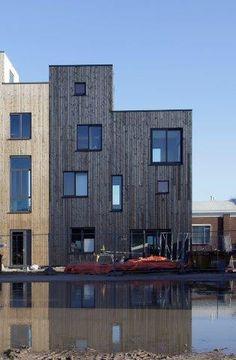 Project gevelbekleding - Zwarthout te Deventer