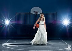 Basketball Bride that will be me