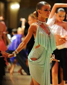 Ballroom dance dress - VESA Design