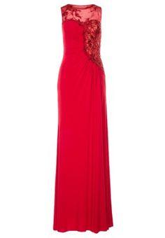Suknia balowa - czerwony