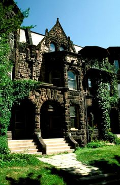 F. Scott Fitzgerald home. This house just reminds me of a castle.