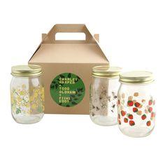 Oldham + Harper Drinking Jars Set of 3