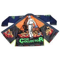 "KO Sports Gear Dark Blue BJJ Gi - ""The Collector"" - Pearl Weave - For Brazilian Jiu-jitsu, Grappling, and Mixed Martial Arts - Kimono and Pants (A4) KO Sports Gear"
