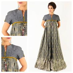 Find it in tonight at exhibition African Print Dresses, African Print Fashion, African Fashion Dresses, African Dress, Beige Maxi Dresses, Casual Dresses, Summer Dresses, Modest Fashion, Hijab Fashion