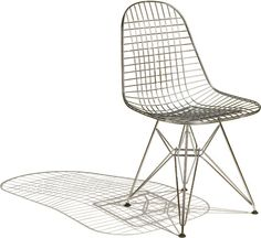 Charles & Ray Eames Eames Wire Chair by Herman Miller