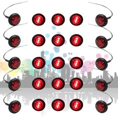 Cheap grommet, Buy Quality led light 4 inch Directly from China Suppliers:THTMH Mini inch Round Truck Marker fit for Boat Tailer Lorry Light RED 3 LED Bullet Grommet Car Lights, Markers, Bullet, Boat, Trucks, Led, Mini, Watch, Plant