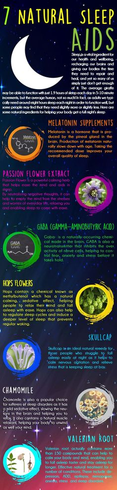7 Natural Sleep Aids Sleep is a vital ingredient for our health and wellbeing, recharging our brains and giving our bodies the time they need to repair and heal, and yet so many of us simply just…MoreMore ** Learn more by visiting the image link. Natural Sleep Remedies, Insomnia Remedies, Natural Sleep Aids, Natural Health Remedies, Natural Cures, Natural Healing, Natural Hair, Holistic Healing, Herbal Remedies