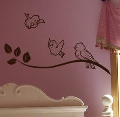 Children Spring decor Vinyl Wall Decal Tree by HouseHoldWords, $19.00