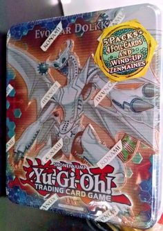 Konami Evolzar Dolkka Yu Gi Oh 2012 Wave 1 Collector Tin for sale online