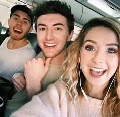 Zoe, Alfie, and Mark ❤️❤️