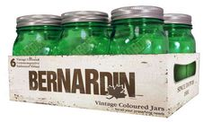 Bernardin Vintage Green 500ml Mason Jars for sale at Walmart Canada. Find Home & Pets online for less at Walmart.ca